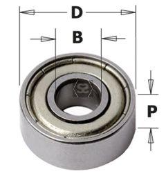 Bearing D=4.763 D=12.5 Sp=4.98mm
