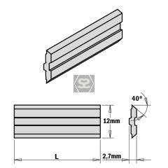 2-PIECE HPS Planer Blades for Centrofix L=510