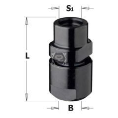 Router Chuck w/o collet S=M12X1 FOR S=6-6.35-8-9.5