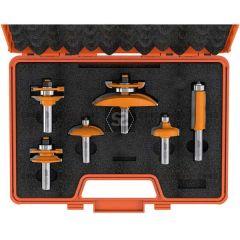 CMT 800 Cabinetmaking Bit Set S=12.7 TCT 6-PCS
