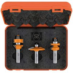 """CMT 800 3 Piece Small Arch Door Router Set S=1/2"""""""