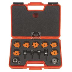 CMT 7pc Groove & Slot Router Cutter Set S=1/2""