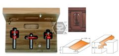 CMT 900.024.11 3 Piece Small Arch Door Set S=8mm