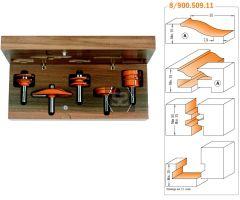 CMT 900.511.11 5pc Kitchen Door Set S=12 PROFILE C