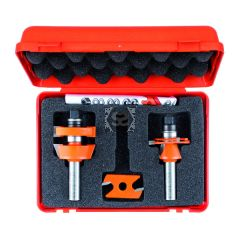 Adjustable Shaker Router Bit Set  Hw  Z2 S=12  D=4