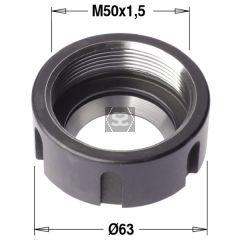 ER40 Clamping Nut W/Bearing M50X1.5  RH
