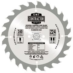 2-pc Saw Blade Pack 250x2.6/1.8x30 Z24+40 Atb