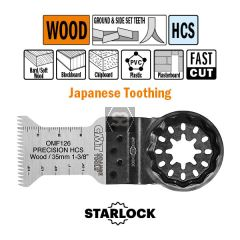 35mm Precision Cut. Japan Toothing For Wood 5 Pack