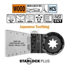 45mm Precision Cut. Japan Toothing For Wood 5 Pack