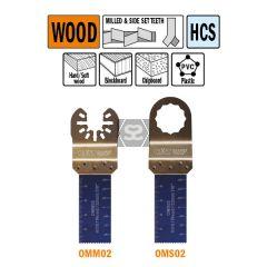 CMT OMM02 22mm Plunge & Flush-cut For Wood 5 Pk