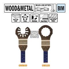 CMT OMM09 10mm Plunge & Flush-cut Wood &  Metal 50