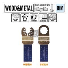 CMT OMM10 22mm Plunge & Flush-cut Wood & Metal 50