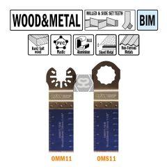 CMT OMM11 28mm Plunge & Flush-cut Wood & Metal 50