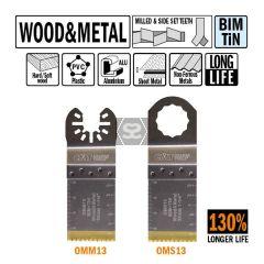 CMT OMM13 32mm XL Life Plunge & Flush Wood
