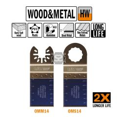 CMT OMM14 35mm XL Life Plunge & Flush Wood