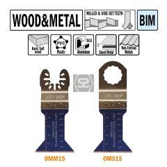 CMT OMM15 45mm Plunge & Flush For Wood & Metal