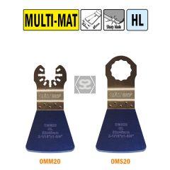 CMT OMM20 52mm Flexible Scraper - All Materials 5