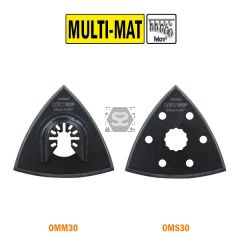 CMTOMM30 93mm Delta Sanding Pad. Perforated