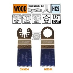 CMT OMS04 34mm Precision Cut. Japan Tooth Wood