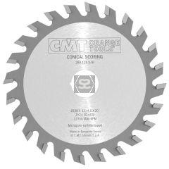 CMT 288 Conical Scoring Blade D=200X4.3-5.5X45 Z36