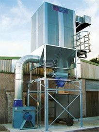 Dust Extraction Plant - Rotary Valve Filter