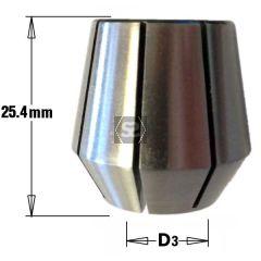 Wadkin C Type Collet 6.35 mm