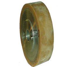 Wadkin Rubber Feed Roller D=140 B=20 d=25 2x8mm pi