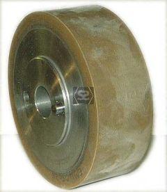 Wadkin Rubber Feed Roller D=140 B=50 d=25 2x8mm pi