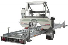 Forestor Sawmill CTR 750 GX Honda with Trailer