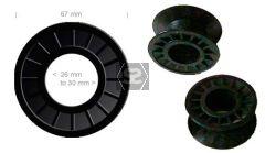 Spare Belt wheel guide for Celaschi