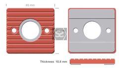 Spare Hole Track Pad for IMA machines