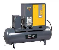 Sirio 08-10-270ES Screw Compressor & Dryer