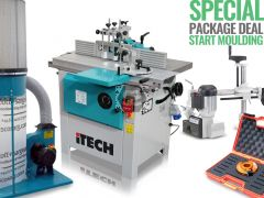 iTECH WS1000TA Spindle Moulder+Sliding Table DEAL
