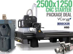TigerTec TR408 8x4 Router with HSD Spindle