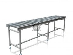 HD Roller Conveyor Table with Legs L = 300 cm
