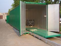 Kiln in Container 40' - Diesel Heating