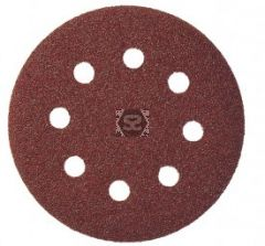 Velcro Sanding Disc D=200 60 Grit Pack of 100