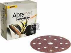 Mirka Abranet Heavy Duty 150mm 15 Hole 40 qty: 25