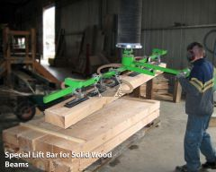 Manut LM Vacuum Lifter for Solid Wood & Timber