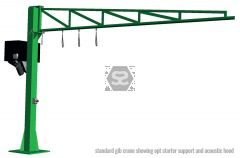 Manut Jib Crane 300 kg L=5m for Vacuum Lifter