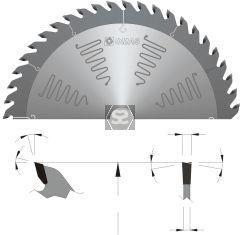 OMAS TCT Noise Reduction Saw Blade d=30 D=250 Z=40