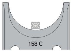OMAS 394 Pair of Profile Cutters 158C
