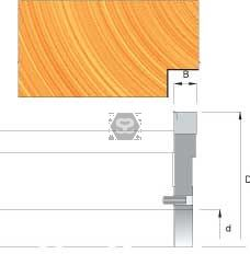 OMAS Edge Reference Head D=125 B=12,5 d=35  Z=2 V2