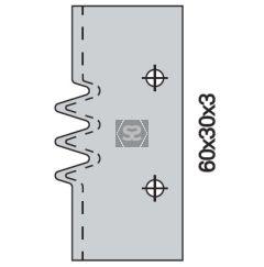OMAS 428 D Spare Glue Joint Knife [ea]