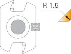 Edgebreaker - R=1.5