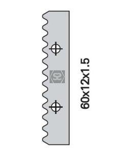 OMAS K428A000 60mm Spare Knife [ea]
