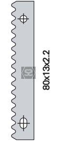 OMAS K428A080 80mm Spare Knife [ea]