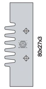 OMAS K48028F000 Spare Blade for K428F or 628A