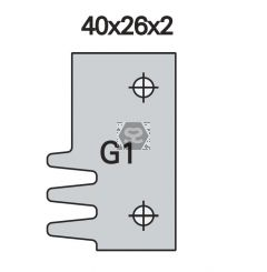 OMAS K48028G100 Spare Blade for OMAS K428-G [ea]