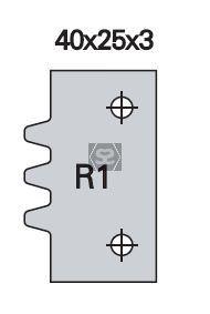 OMAS K48028R100 Spare Blade [ea] R1 for K428-R